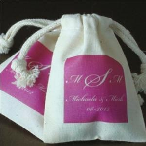 Small Monogram Silhouette Muslin Bag image