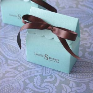 Monogram Stardream Scalloped Favor Bag image
