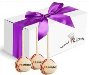 Cake Pops - Logo- Gift Box of 12 image