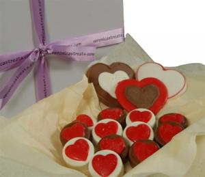 Oreo Cookies - Gift Box- Hearts image