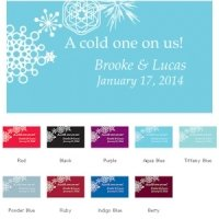 Winter Finery Small Drink Tickets (Set of 120)