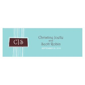 Modern Medley Small Rectangular Tag (Set of 20 - 7 Colors) image