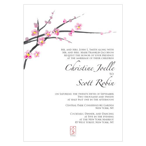 Invitation Design Shown