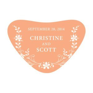 Forget Me Not Heart Container Sticker (9 Colors) image