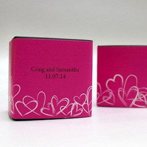Contempo Hearts Favor Box Wrap (Set of 20) image