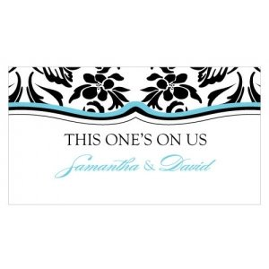 Damask Small Drink Tickets (Set of 120) image