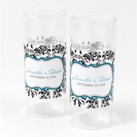Love Bird Damask Mini Luminary Wrap (12 Pack)