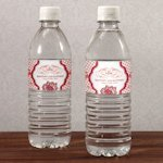 French Whimsy Wedding Water Bottle Labels (10)