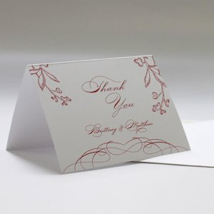 French Whimsy Thank You Cards (Set of 6) image
