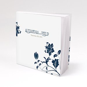 Personalized Floral Orchestra Notepad Favor image