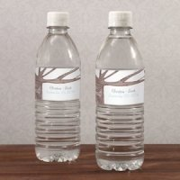 Heart Strings Water Bottle Labels (Set of 10)
