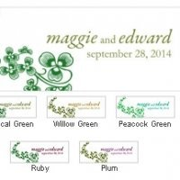 Luck of the Irish Small Rectangle Tag (Set of 20)