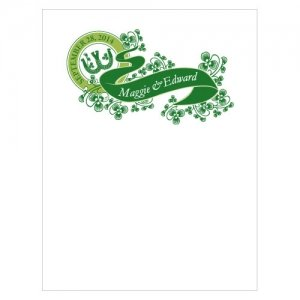 Luck of the Irish Blank Note Cards (Set of 6) image