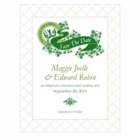 Luck of the Irish Save the Date Cards (Set of 8)