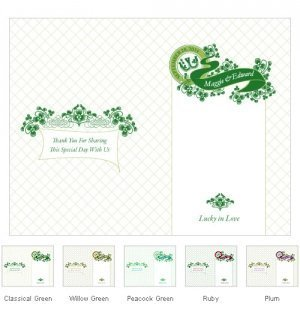 Personalized Luck of the Irish Program Paper image