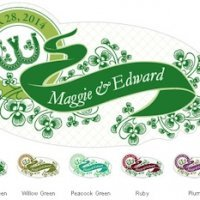 Luck of the Irish Small Window Cling (5 Colors)