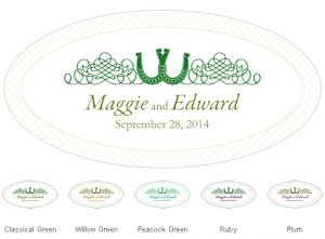 Luck of the Irish Large Window Cling (5 Colors) image