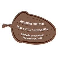 Together Forever Personalized Acorn Sticker
