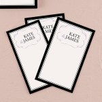 Personalized Wish Cards - Pack of 4 (Many Colors)