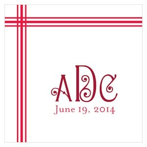 Blissful Picnic Monogram Tag (Set of 20 - 8 Colors) image