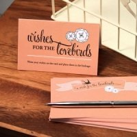 Love Birds Wish Cards - Pack of 4