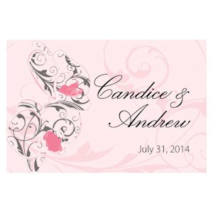 Classic Orchid Large Rectangular Tag (Set of 12) image
