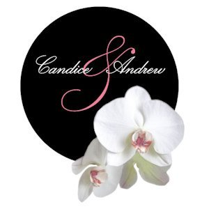 Classic Orchid Personalized Round Sticker (4 Colors) image