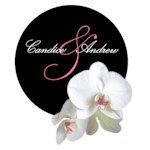 Classic Orchid Personalized Round Sticker (4 Colors)