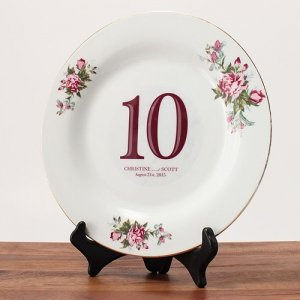 Classic Die Cut Table Number Clings (13 Colors) image
