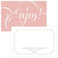 Expressions Personalized Large Rectangular Tag