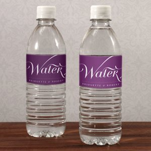 Expressions Personalized Water Bottle Labels image