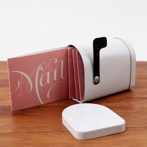 Expressions Post Folded Note Card (Set of 4 ) image