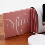 Expressions Post Folded Note Card (Set of 4 )
