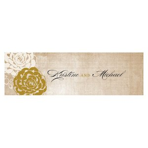 Vintage Lace Small Rectangular Tag (Set of 20) image