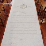Parisian Love Letter Personalized Aisle Runner (2 Colors)