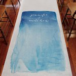 Aqueous Personalized Aisle Runner (5 Colors)