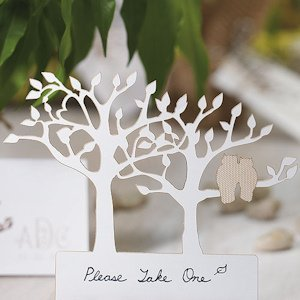 Owl Tree Silhouette Die Cut Cards (Set of 12) image