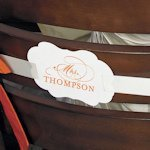Personalized Mr. & Mrs. Signs for Chairs