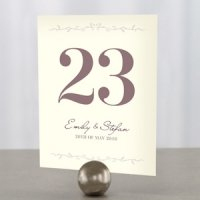 Equestrian Love Wedding Table Numbers (4 Colors)