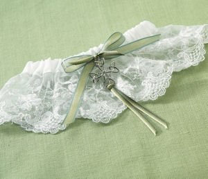 Celtic Charm Wedding Garter image