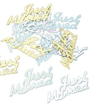 Just Married Confetti image