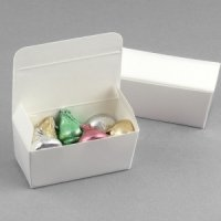 White Truffle Favor Boxes (Sets of 20)
