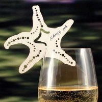 Laser Expressions Starfish Die Cut Card - Set of 12