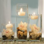 Miniature Round Floating Candles (Set of 20)