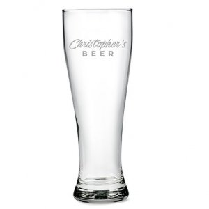 Giant Casual Etching Engraved Beer Glass Gift image