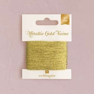 Metallic Gold Twine image