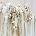 DIY Wedding Bell Ribbon Wand Kit (Set of 12 Wands)