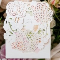 Floral Garden Favor Box (Set of 10)