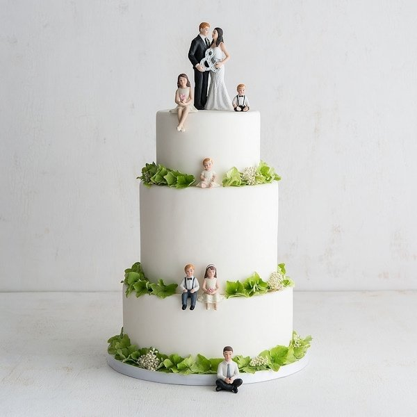 Novelty Wedding Cake Toppers Dog Child