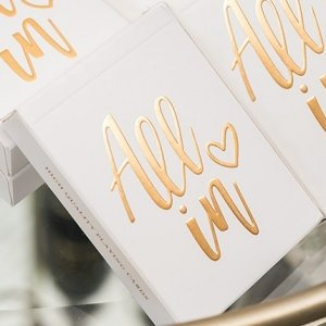 Gold Foil All In Playing Cards image